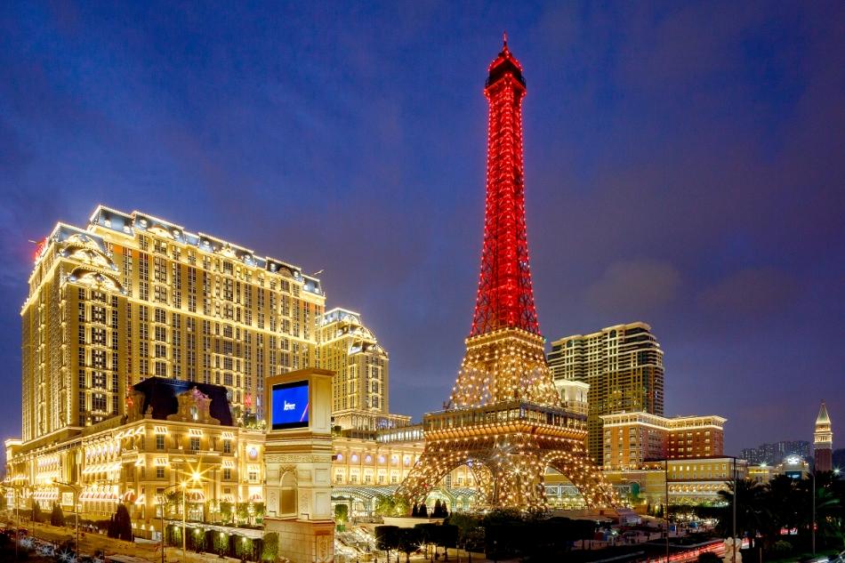 The Parisian Macao exterior 中