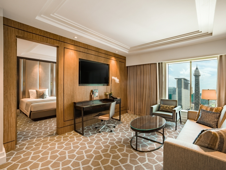 The Parisian Macao - Lyon Suite with Eiffel Tower view(001)