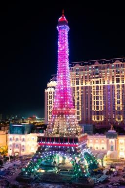 The Parisian Macao's Eiffel Tower Illumination Event_3(001)
