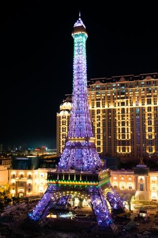 The Parisian Macao's Eiffel Tower Illumination Event_4(001)