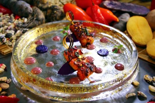 八爪魚串燒