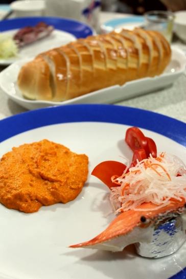 呷尚鱻-蟹黃咖哩麵包