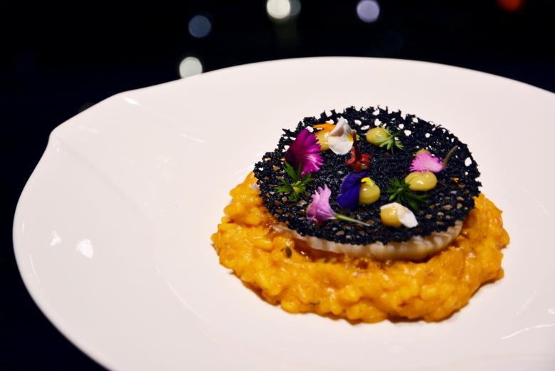 夜光貝海膽燉飯