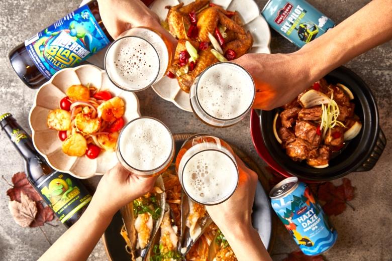 板橋凱撒大飯店 以食品酩加拿大精釀啤酒.jpg