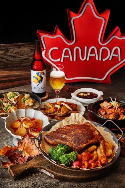 板橋凱撒大飯店 家宴中餐廳加拿大精釀加宴