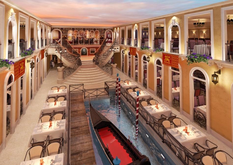 歌詩達郵輪威尼斯號_大運河餐廳R