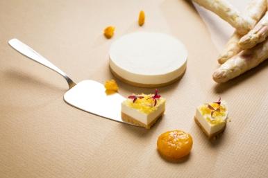 寶艾西餐廳-白蘆筍輕乳酪蛋糕