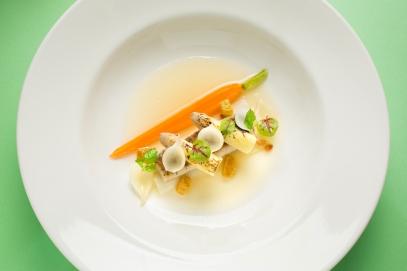 Ziga Zaga-白蘆筍義式醃醋海鱸魚柳