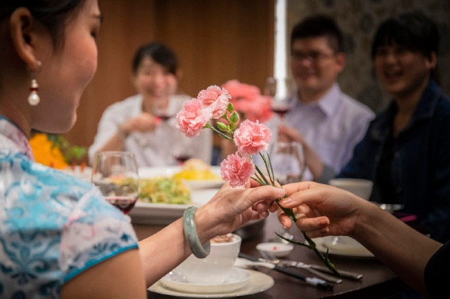 圖4.凱達「家宴」母親節包廂10人桌宴,每桌12,000元+10%起,4月底前預訂享早鳥優惠85折。