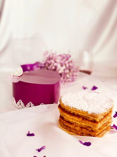君品「層層心意」千層派蛋糕