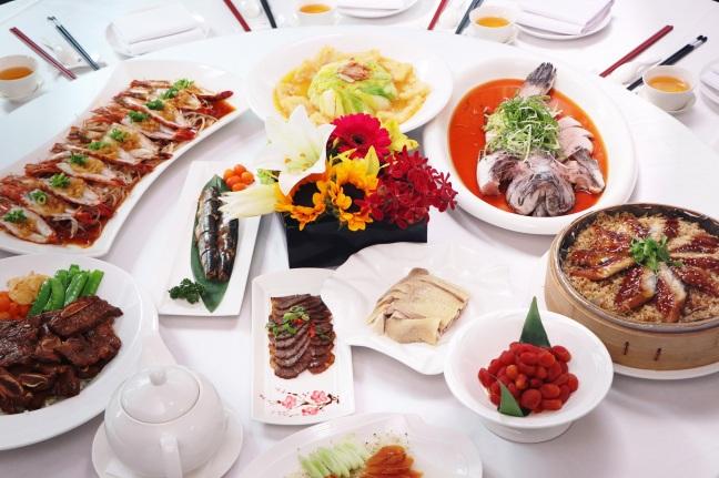 板橋凱撒大飯店 家宴中餐廳 母親節家餚桌席