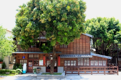 位於台南公會堂內的「十八卯茶屋」,由日本人柳下勇三在1934年所設立。
