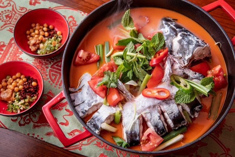 苗嶺酸湯魚