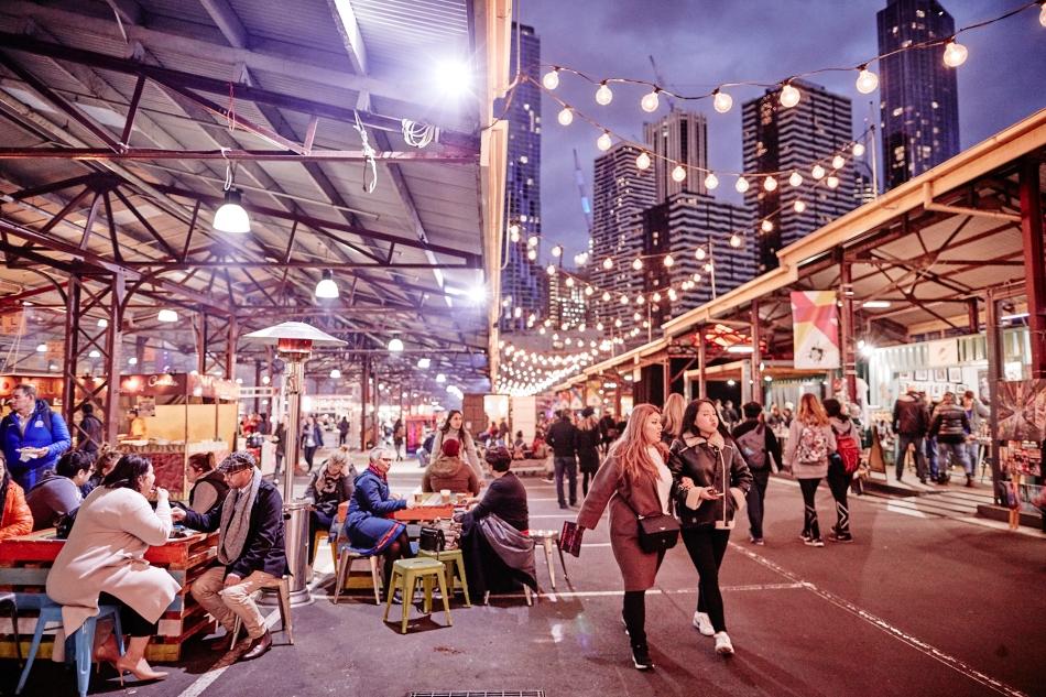 Queen Victoria Market - Winter Night Market