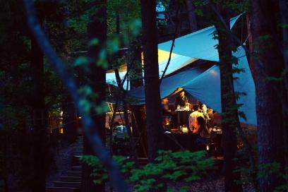 虹夕諾雅系列旅館有各自主題,富士是現今世界風潮、亦是日本首間Glamping時尚豪華露營旅館。 (2)