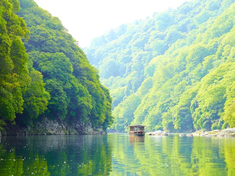 HOSHINOYA Kyoto Boat Check-in 2