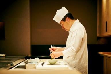HOSHINOYA Kyoto Executive chef (Mr. Kubota) 2