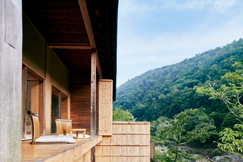 HOSHINOYA Kyoto Floating Tearoom 1