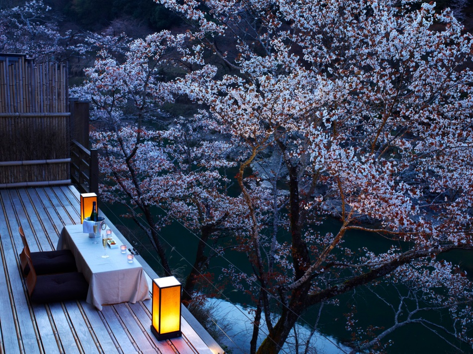 HOSHINOYA Kyoto Floating Tearoom 2