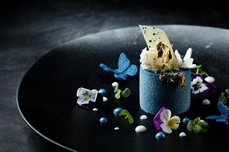 澳門威尼斯人「皇雀印度餐廳」 福-皇雀藍莓巧克力慕斯