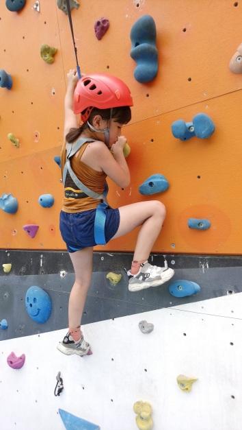 趣淘漫旅台南提供兒童攀岩體驗