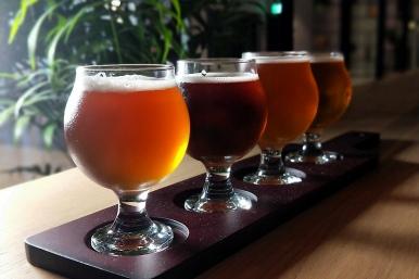 現場亦提供多款台虎精釀啤酒