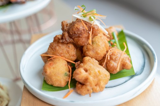 關島風味鮮蝦餅