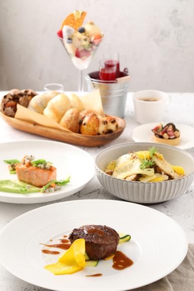 台北君悅-寶艾西餐廳-周末晨光套餐 (1)