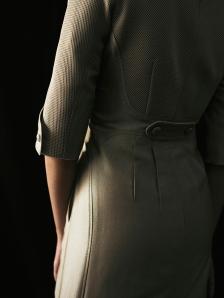 女座艙長洋裝背面細節-R
