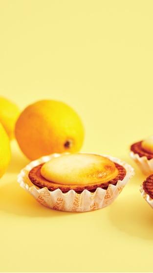 瀨戶內檸檬起司塔(照片提供 BAKE WORKS)