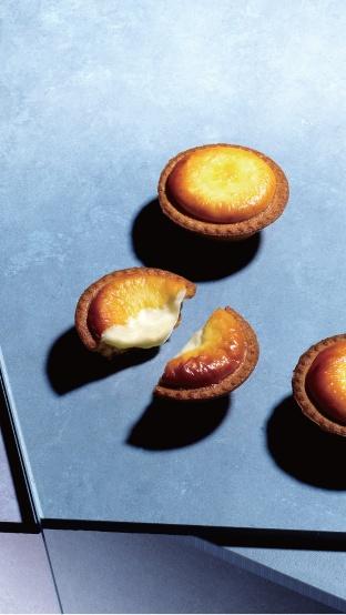 經典原味起司塔(照片提供 BAKE WORKS)