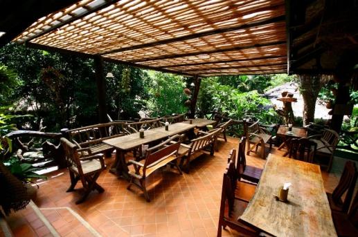 飯店餐廳戶外區