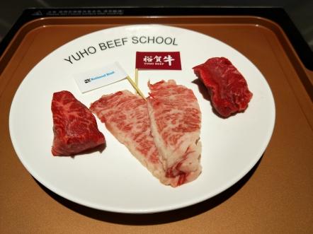 參加課程者可現場烹調牛肉並品嚐自己的成果