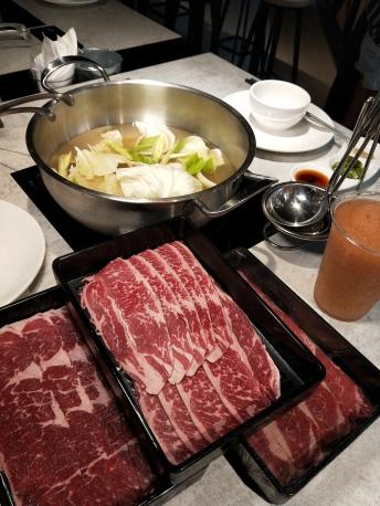 牛肉涮涮鍋