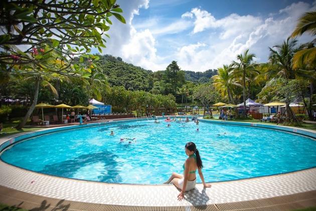 千坪泳池庭園超適合拍網紅等級美照