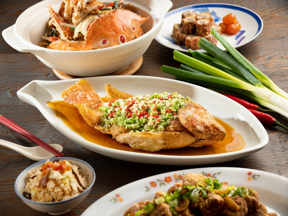 台北君悅-凱菲屋台灣美食節-傳統紅燒台灣鯛