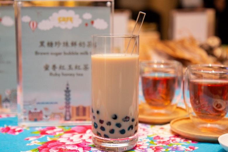 台北君悅-凱菲屋台灣美食節- 黑糖珍珠鮮奶茶