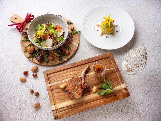 台北君悅-寶艾西餐廳-聖誕套餐