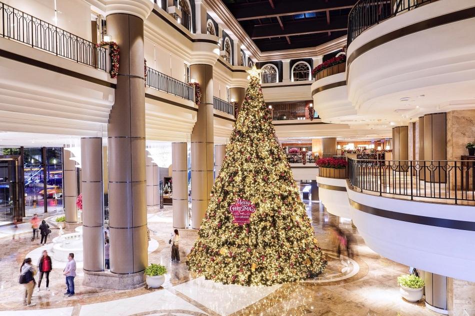 台北君悅酒店聖誕樹