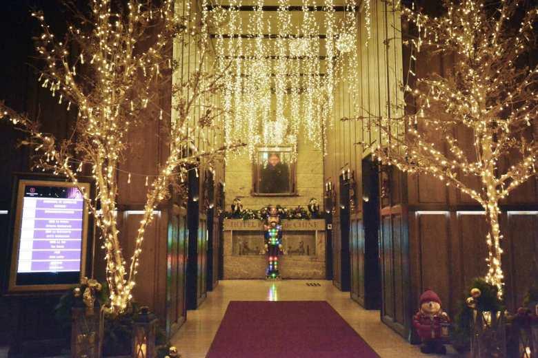 君品酒店今年主打「金色浪漫聖誕節」