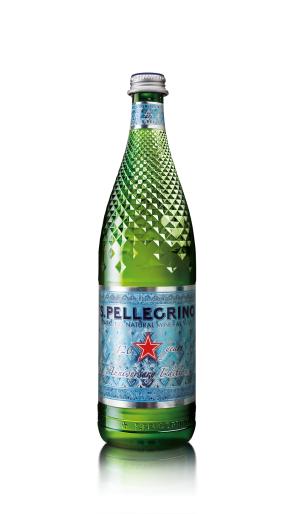 從鑽石汲取靈感,聖沛黎洛120週年紀念瓶