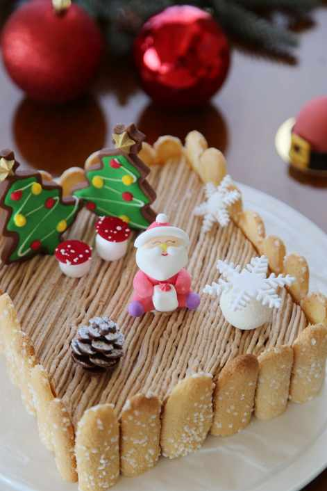 雲品溫泉酒店推出多款聖誕節期間限定造型甜點