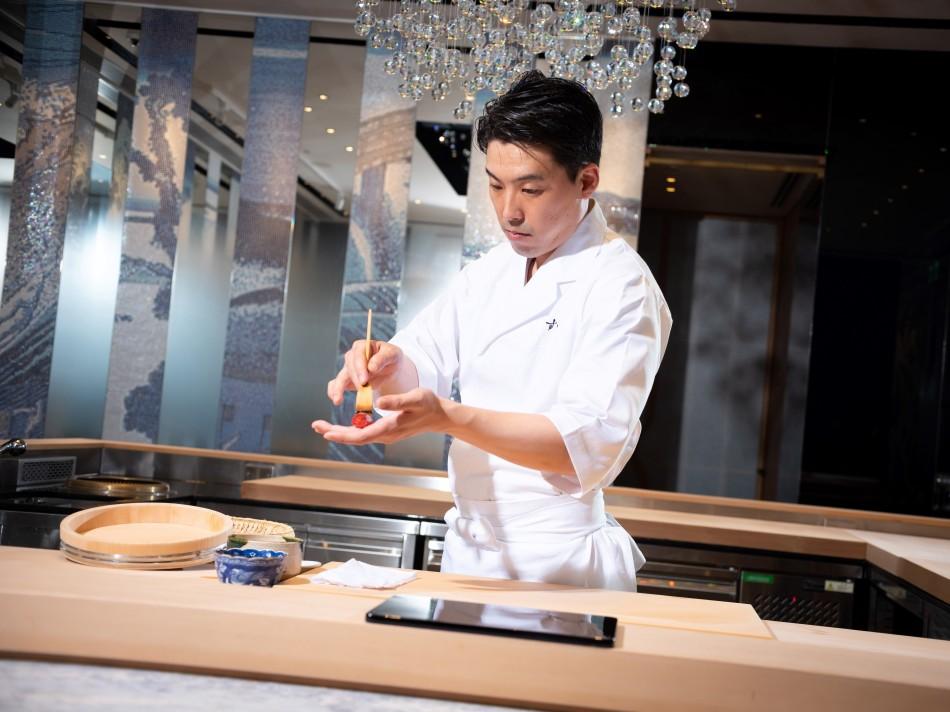 駐店主廚小杉秀樹 Chef Kosugi Hideki, Sushi Masuda Taipei (2)