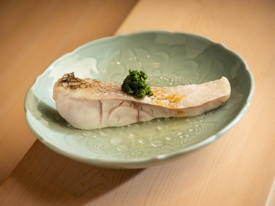 鮨 增田 Sushi Masuda Taipei_酒蒸白川甘鯛
