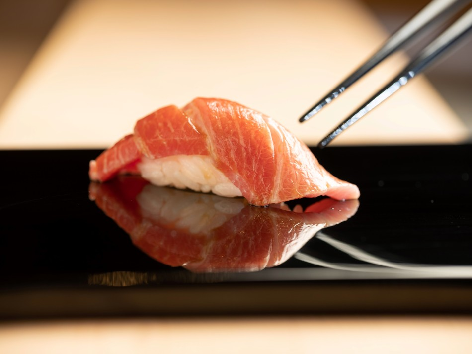 鮨 增田Sushi Masuda Taipei_握壽司 - 鮪魚上腹