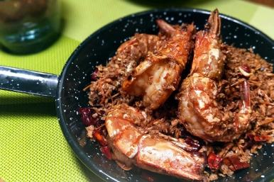避風塘鮮蝦 重鹹香辣