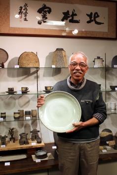 「北社窯」社長,陶藝家吉田勝弘先生。