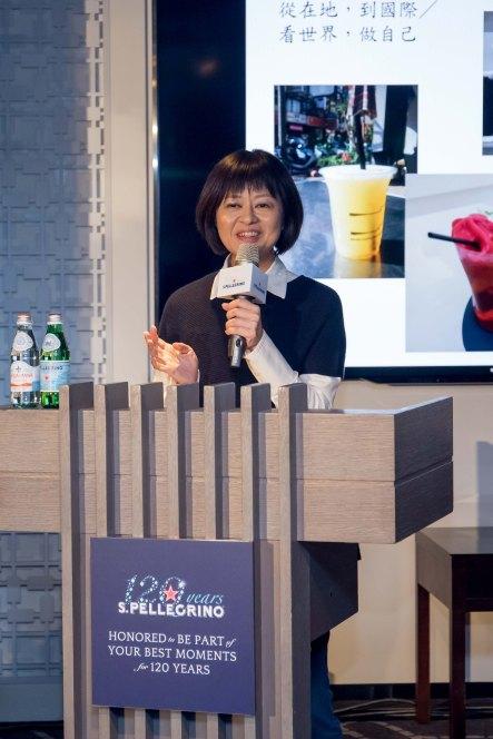 知名飲食旅遊生活作家 葉怡蘭,講題:在地顯學年代裡的台灣滋味