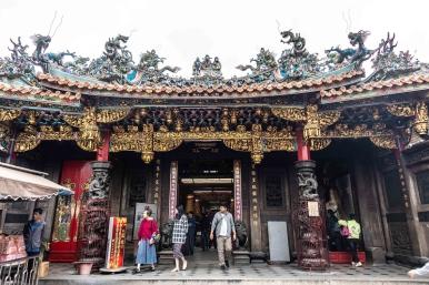 古代竹塹城以城隍廟為中心