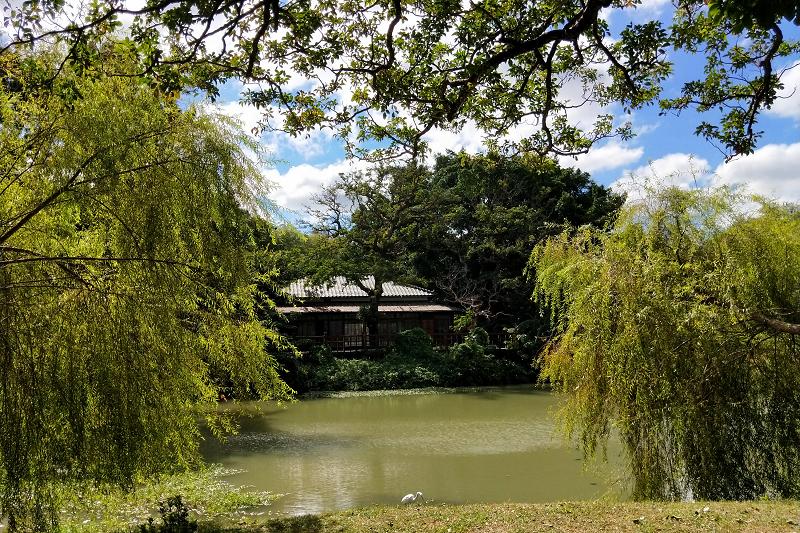 新竹公園湖畔料亭,為新竹公園麗池畔的日式建築,原為台灣日治時期於1931年興建的新竹市市營休憩所2.(001)